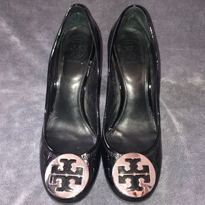 Black patent Sophie tory burch